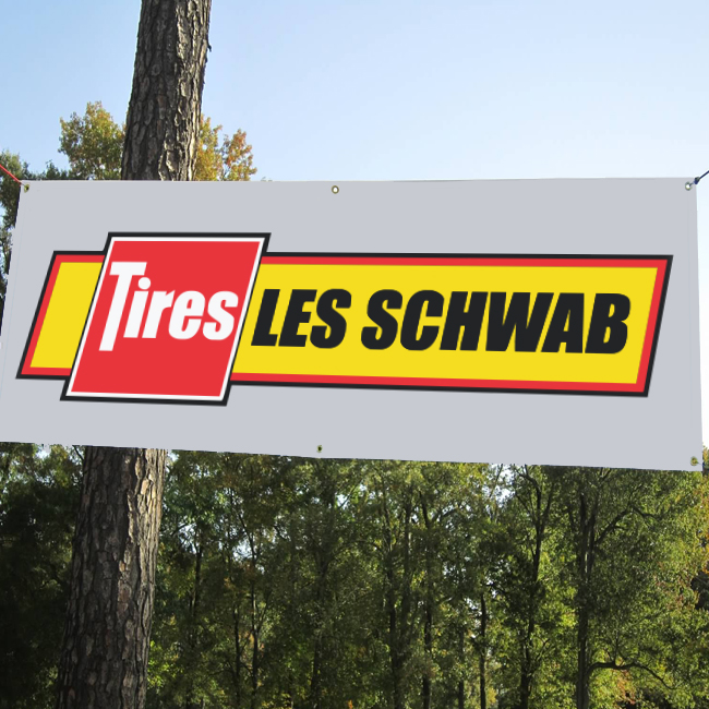 Les Schwab Banner