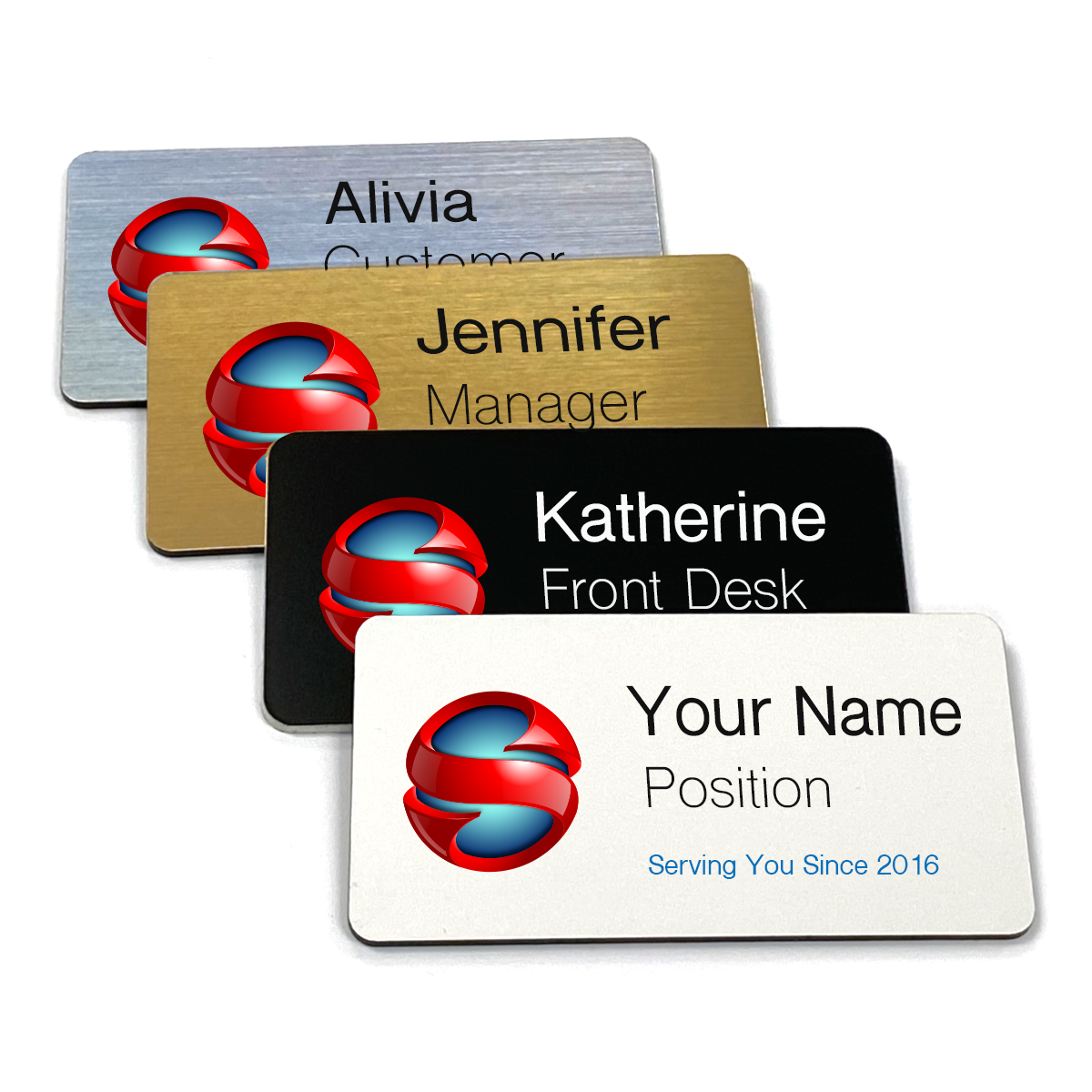 Large Rectangle Name Tags 1