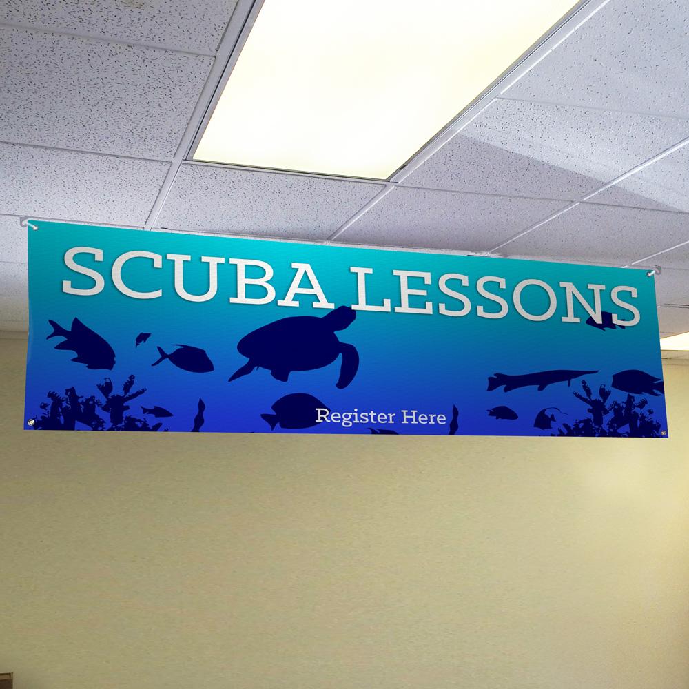 Scuba Lessons Banner