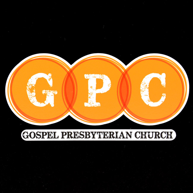 Gospel Presbyterian Church Multi-Color Cut-Out Sticker