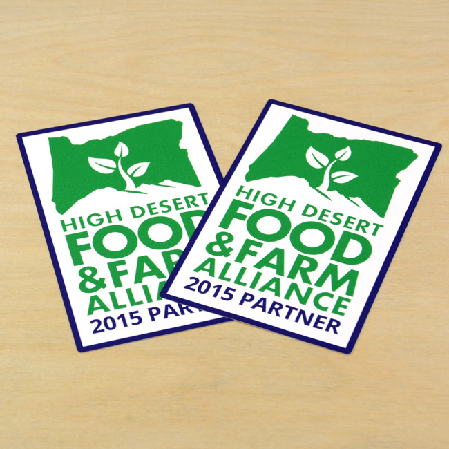HDFFA Member Rounded Rectangle Sticker