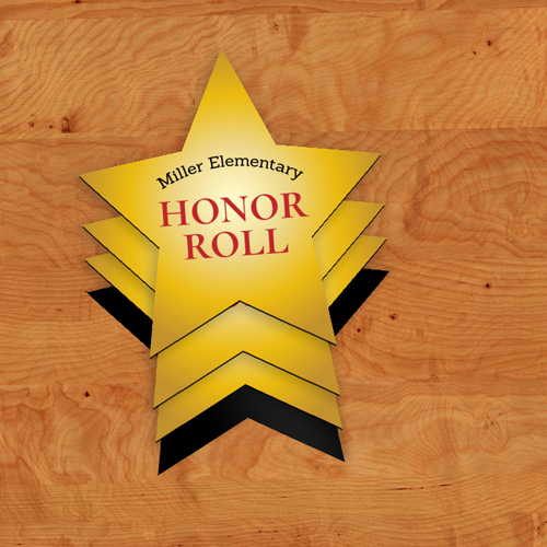 Honor Roll Star Magnets