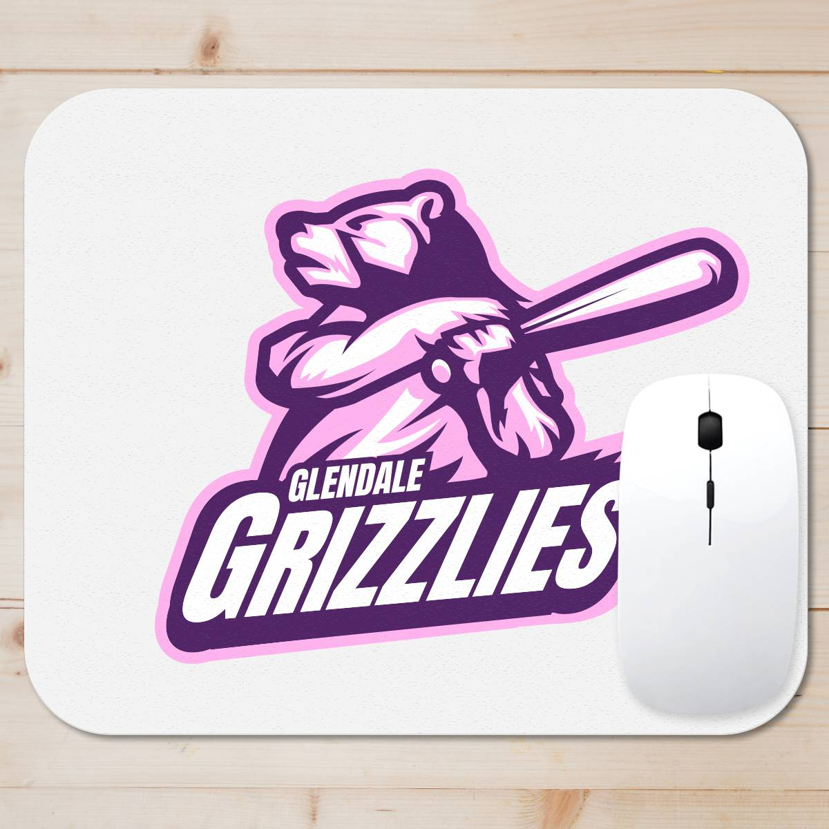 Grizzlies Softball Mouse Pad