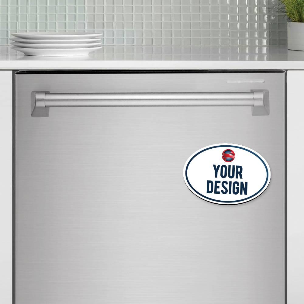 Oval Magnet Dishwasher