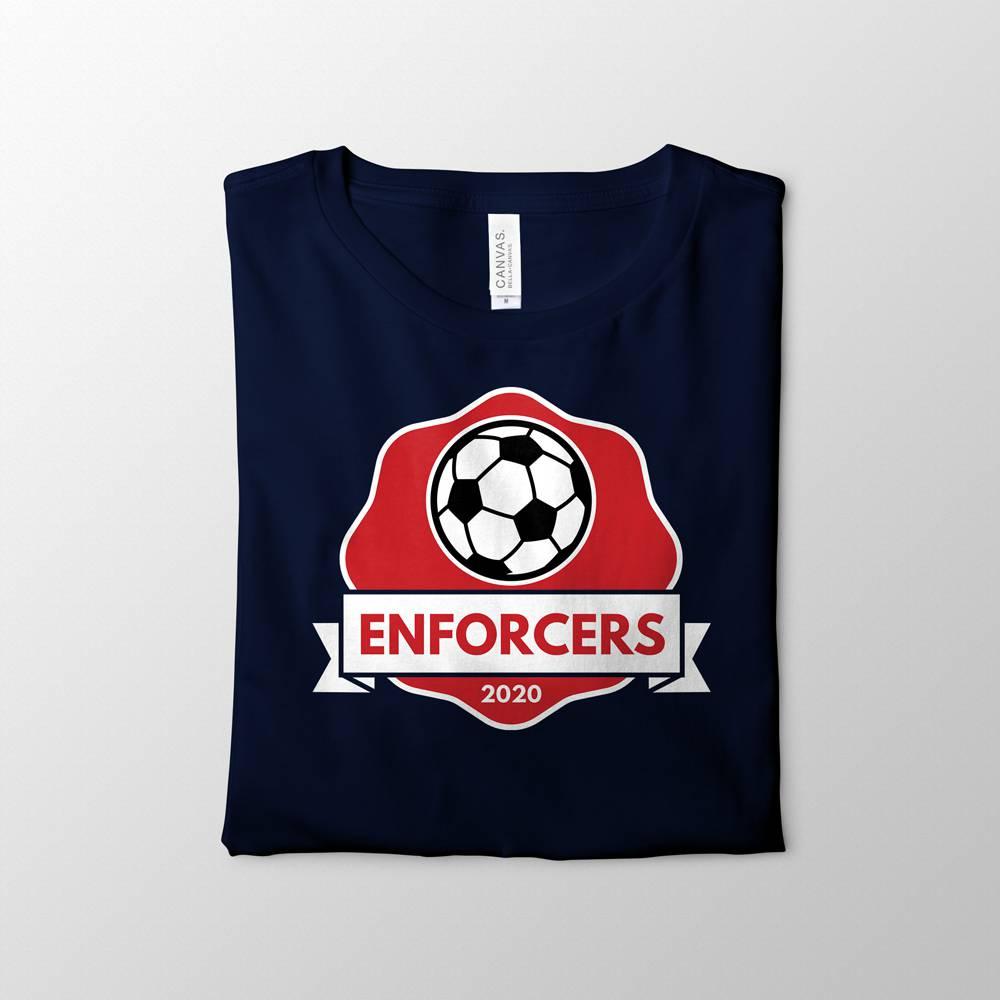 Enforcers Soccer Team Shirt