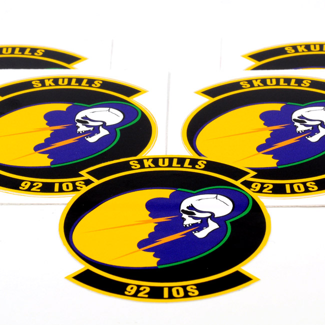 Skulls 92 IOS Die-Cut Stickers