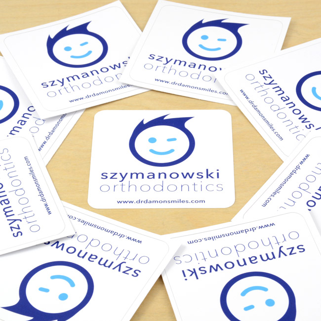Szymanowski Orthodonics Rounded Rectangle Sticker