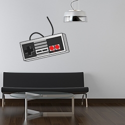 NES Controller Wall Decal
