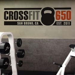 Custom Crossfit Wall Decal