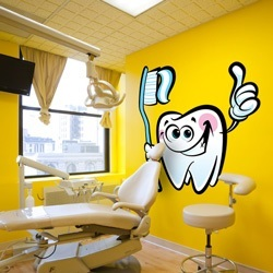 Custom Dental Wall Decal
