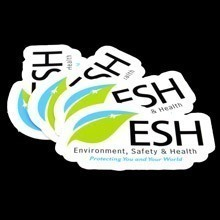 ESH Die-Cut Sticker