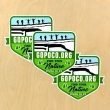 Gopoco.org Die-Cut Stickers