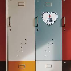 Heart Magnet Locker