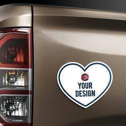 Heart Magnet Truck