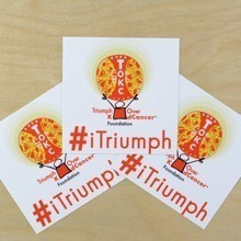 iTriumph Rectangle Stickers