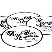 Kai Bar Roasters Circle Stickers
