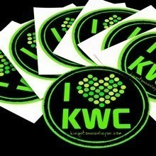 KWC Circle Stickers