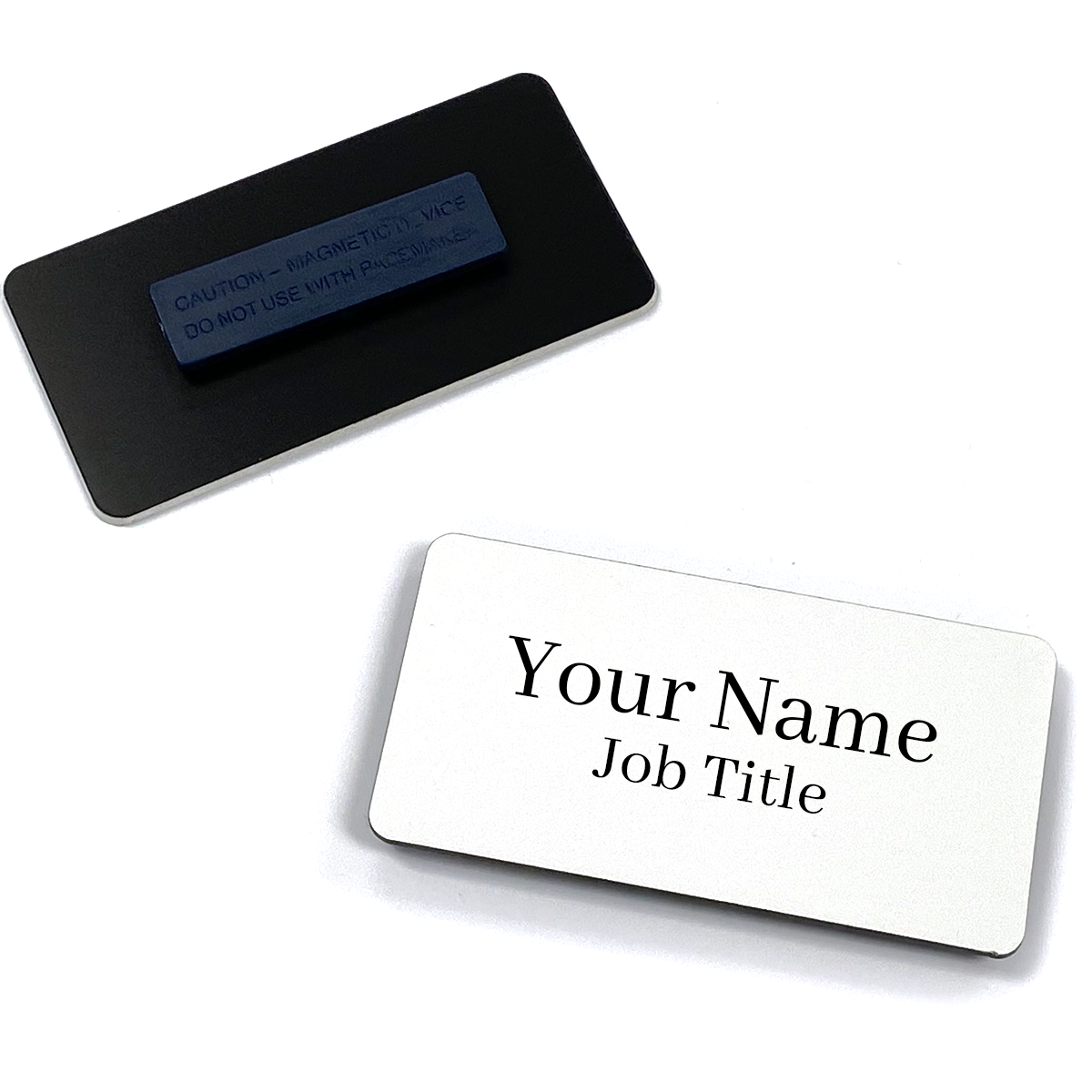 Large Rectangle Name Tags 2
