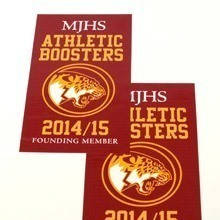 MJHS Rectangle Stickers