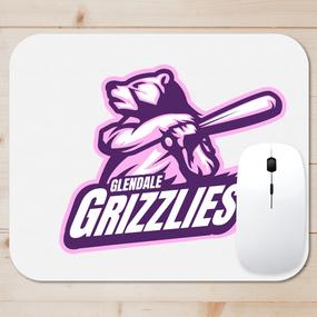 Grizzlies Softball Mouse Pad