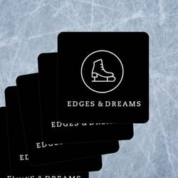 Edges & Dreams Rounded Rectangle Stickers