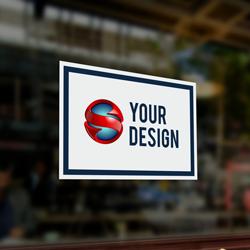 Rectangle Stickers-Window