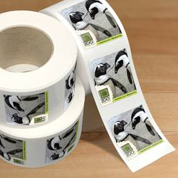 Zoo Roll Label Stickers