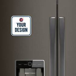 Rounded Edge Magnet Refrigerator