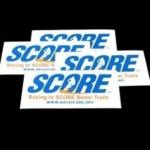 Score Rectangle Stickers