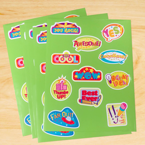 Celebration Sticker Sheets