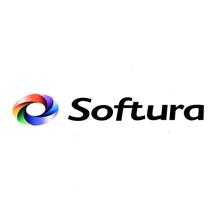 Softura Multi-Color Cut-Out Sticker