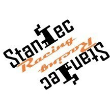 Stantec Racing Multi-Color Cut-Out Stickers
