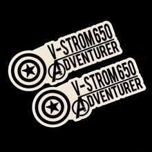V-Strom Adventurer Die-Cut Sticker