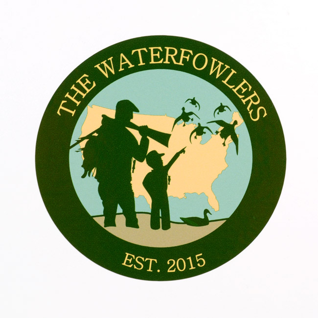 The Waterfowlers Circle Stickers