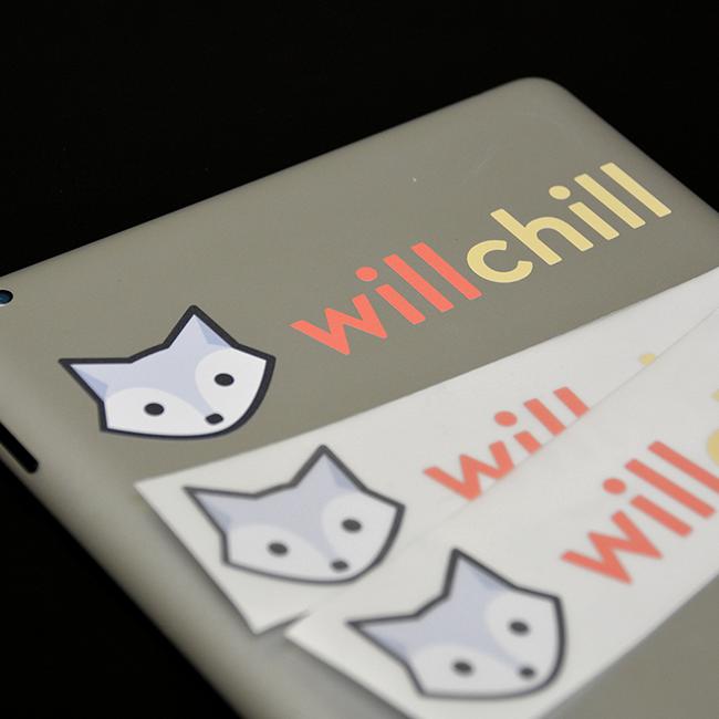 Will Chill Multi-Color Transfer Stickers
