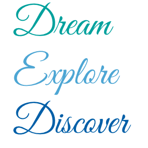 Dream Explore Discover Wall Decal