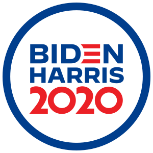 Biden Harris 2020 Circle Sticker