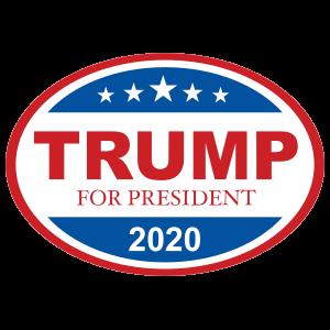 Donald Trump Oval Sticker