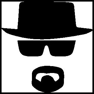 Heisenberg Macbook Sticker