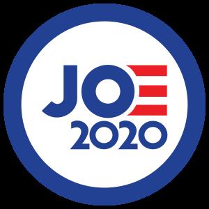 Joe Biden 2020 Circle Sticker