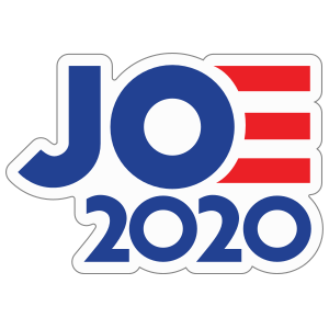 Joe Biden 2020 Die Cut Sticker