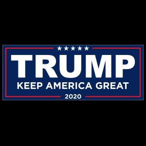 Keep America Great Trump 2020 Sticker