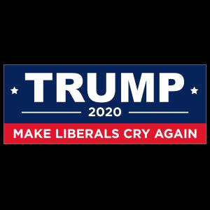 Make Liberals Cry Again Trump Sticker