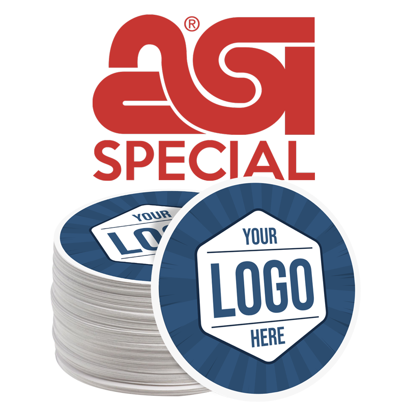 28 Custom Circle Stickers For $9.80