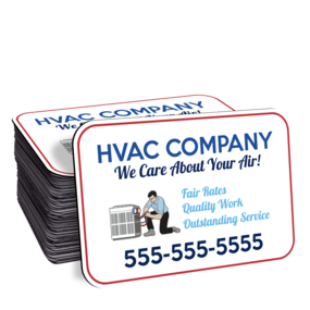 HVAC Car Door Magnet