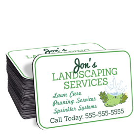 Landscaping Car Door Magnet
