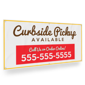 Custom Curbside Banner