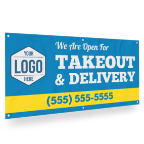 Custom Delivery Banner