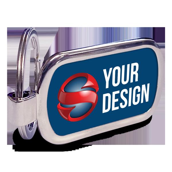 Custom Rectangle Key Chain