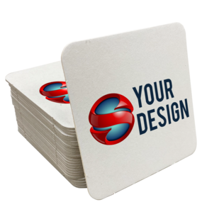 Custom Square Paper Coasters